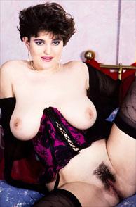 Beautiful Ingrid In The Nineties Showing Natural Boobs